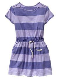 Stripe short-sleeve T-shirt dress Amanda, Striped Shorts, Beach Photos, Kids Outfits, Gap, Shirt Dress, T Shirt, Short Sleeve Dresses, Slim