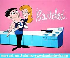 Bewitched...my favorite childhood show...along with Donna Reed and My Three Sons, Lassie, Flinstones and Leave it to Beaver