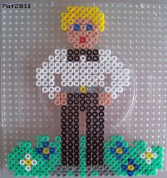 Wedding groom perles hama beads - Les loisirs de Pat