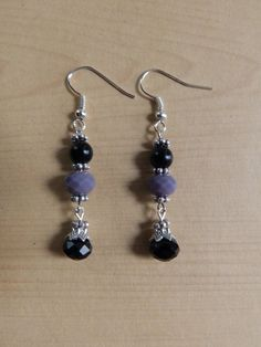 Occult Wisdom Earrings Protection Divination by MaidenMotherCrone, $15.00