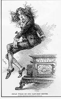 oscar wildes lecture tour of america the wit and flamboyance that captivated americans His cartoon appeared when oscar wilde was in the middle of his lecture circuit of  the  richard d'oyly carte's offer to finance the north american speaking tour.