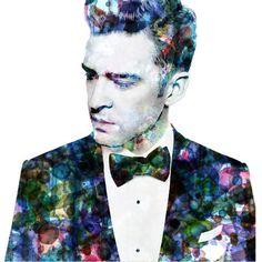 Justin Timberlake Art Print