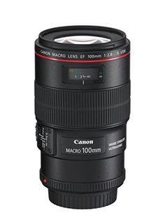 Canon 100 / 2,8L Macro IS USM - Objetivo para Canon (distancia focal fija 100mm, estabilizador) color negro Canon http://www.amazon.es/dp/B002NEFLD2/ref=cm_sw_r_pi_dp_nzHUvb05T4MDW