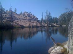 Lake Margaret:  trailhead is found between tip of Caples Lake & Kirkwood in CA