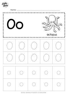 Letter O Preschool Worksheet Free Letter Oo Tracing Worksheets Letter O Activities, Alphabet Tracing Worksheets, Printable Preschool Worksheets, Tracing Letters, Kindergarten Worksheets, Kindergarten Class, Abc Tracing, Handwriting Worksheets, Handwriting Practice