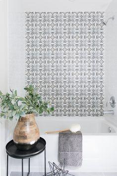 Encaustic Cement tile is The Tile Shop Art Sysley
