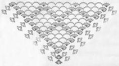 Výsledek obrázku pro вязание крючком шарфы схемы