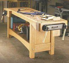 workbench woodworking plan