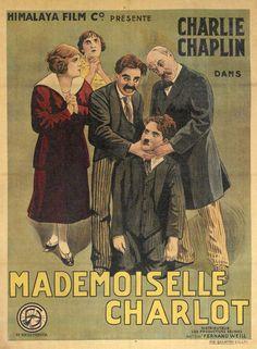 Charlot, perfecta dama (A Woman), de Charles Chaplin, 1915