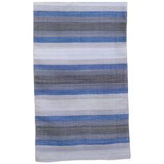 John Robshaw Textiles - Tamkin Ombre Dhurries - MAHARAJA