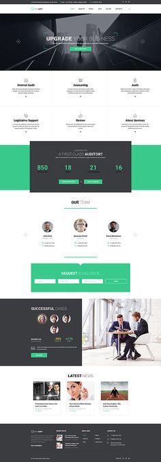 EASY  AUDIT - #business  #responsive  #Joomla #website  #template