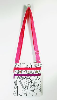 Color Me Bag Colour Me Bag Fashionable Kids Bag Sling Bag Artsy ...