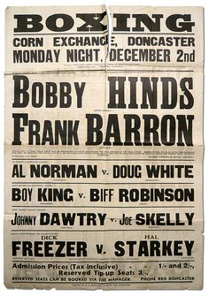 Reason to Read | Boxing Posters