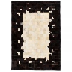 Union Rustic This area rug will add a luxurious and original element to your decor. With its natural colour scheme and patchwork design, the carpet will become an eye-catcher in any room. Rug Size: Rectangle 80 x Patchwork Rugs, Patchwork Designs, Neutral Color Scheme, Color Schemes, Black White Rug, Rug Texture, 230, Rustic Rugs, Modern Rugs