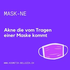 Schon von der Mask-ne gehört?  Viele entwickeln gerade eine Akne unter der Schutzmaske (Masken Akne). Die dauernd feuchte Luft under der Maske, die Reibung und das veränderte Bakterienklima reizen die Haut und lösen bei manchen eine Akne aus. Hilfe kommt! Wir haben ein SOS Paket zusammengestellt: Eine JetPeel SOS Detox Behandlung regt die Lymphe an, hemmt die Bakterien dank dem Mikrosilber im Detoxwasser und Beruhigt die gestresste Haut mit Vitamin B5. Für zu Hause bekommst du das Doctor… Spa, Weather, Beauty, Instagram, Calm Down, Stressed Out, Protective Mask, Masks, Weather Crafts