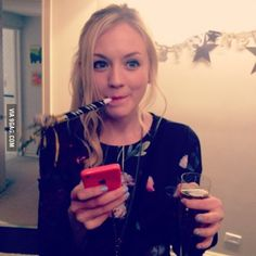 """Emily Kinney """"Back and ready to party. Naughty Disney Princesses, Lauren Cohen, Netflix, Beth Greene, Emily Kinney, Girl Celebrities, Celebs, Her Music, Best Funny Pictures"""