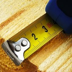 For your workshop, make sure that you have at least a three-quarter-inch-wide, 10- or 12-foot-long tape. I find a small (6-foot-long, half-inch-wide) pocket tape goes with me almost everywhere.