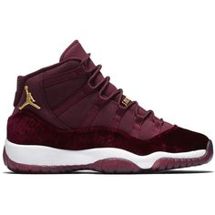 "Air Jordan 11 Retro GG ""Heiress"" ❤ liked on Polyvore featuring shoes, sneakers, jordans and trainers"
