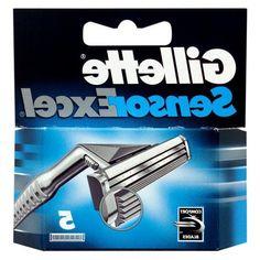 Gillette Sensor Excel Razor Blades Pack of 10 cartridges comfort blade Fast Post UK Shaver Shop, Oral B Sensitive, Tv Accessories, Gillette Fusion, Mens Razors, Shaving, Blade, Software, Ebay