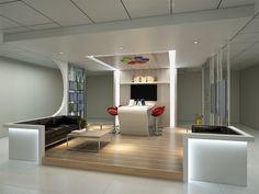 Interior design office room