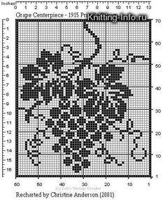 Crochet Patterns Filet, Lace Knitting Patterns, Crochet Borders, Crochet Diagram, Knitting Charts, Crochet Stitches, Crochet Curtains, Tapestry Crochet, Crochet Doilies