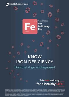 #IronDeficiencyDay #IronDeficiency #RoleofIron #TakeIronSeriously #IDDay #anemia #irondeficiencyanemia Crazy Facts, Weird Facts, Iron Deficiency Anemia, 26 November, Letting Go, Healthy Life, Health Care, Encouragement, How To Get