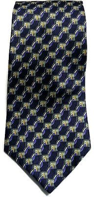 Silk Tie by Puritan Multi-Color Classic Necktie