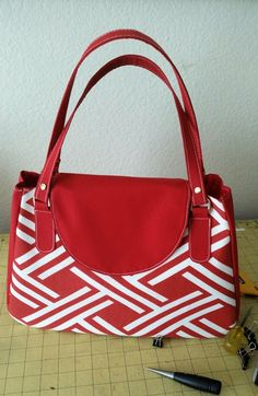 How to make a designer handbag/ patterns z 1