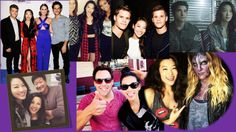 Arden Cho and the Teen Wolf cast. Coach Bobby, Kate Argent, Braeden.