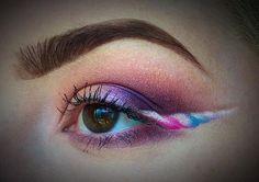 Maquiagem para o Carnaval: Delineado de unicórnio – We Fashion Trends