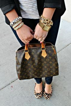 Arm Party + LV + Cheetah arm-party