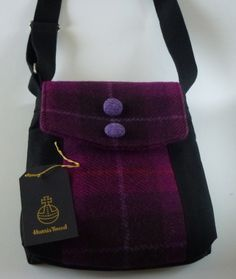 Harris Tweed and Canvas Bag £30.00