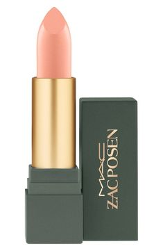 Swooning over this pale pink lip color by MAC and Zac Posen.
