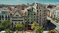 La Casa Batlló (Barcelona), de Antoni Gaudí. El vídeo ganó el  premio al Mejor Film Cultural de 2014 y el Gran Premio del 7º Festival Internacional de Riga.