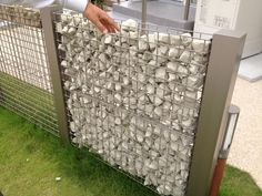 Gabion Wall, Surf House, Front Gates, Dream House Interior, Yellow Houses, Fence Design, Home Repair, Building Materials, Garden Inspiration