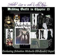 """Undertaker's Wedding Outfit in Chapter 15"" by missnerd-liz on Polyvore featuring L'Objet, Lime Crime, Brooks Brothers, Calibrate, Bally, men's fashion and menswear"
