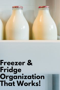 Freezer and Refrigerator Organization Freezer and Refrigerator Organization tips to go from mosh pit to military drill formation! Freezer Organization, Kitchen Organization, Organization Hacks, Kitchen Storage, Planning And Organizing, Organizing Ideas, Refrigerator Organization, Home Management, Household Chores