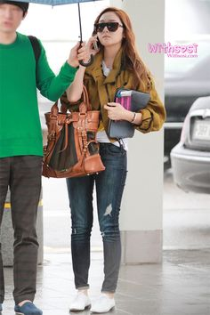 SNSD Jessica at Incheon Airport on April 25th.