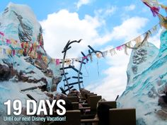 """19 Days until our next Disney Vacation!  We are counting the days to our next Disney trip with our favorite pics taken at the parks. This photo was taken on Expedition Everest at the Animal Kingdom in Walt Disney World. Let us know if you """"Like"""". #disneyside"""