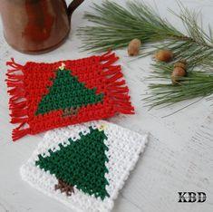 Holiday Crochet Patterns, Crochet Doily Patterns, Crochet Art, Crochet Gifts, Thread Crochet, Doilies Crochet, Christmas Mug Rugs, Crochet Christmas Ornaments, Christmas Knitting