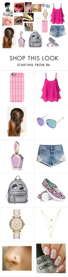 """Justin's Photo Shoot For Believe"" by makayla-cowan on Polyvore featuring Casetify, Doublju, L. Erickson, H&M, Justin Bieber, Chiara Ferragni, Vans, Michael Kors and Forever 21"