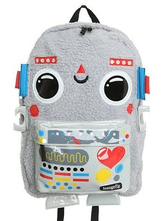 Robot Backpack  girls  backpacks  fashion www.loveitsomuch.com Ropa Para  Niñas 9db747d618f09