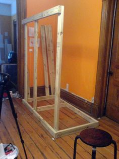 "how to build photo booth! Rick said he would be happy to build it and Ryan said he would set up the computer and there is computerized ""photo booth"" software!"