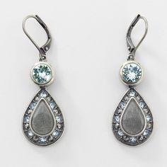 Bravo Earrings - Touchstone Crystal by Swarovski - http://mytouchstonecrystal.com/msmith