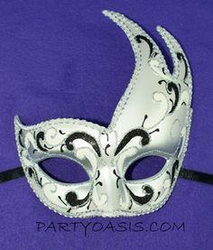 Masquerade Party Eye Mask Italian Style