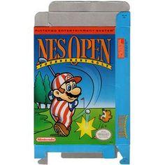 NES Open Tournament - Empty NES Box