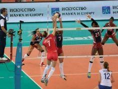 Las Reinas del Caribe caen ante Rusia 3-1