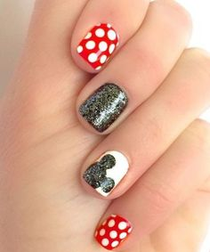 Disney Lover Mickey Nail Art Designs