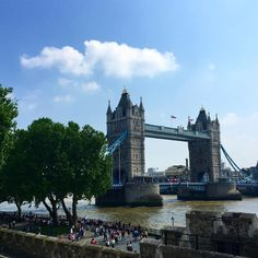Tower Bridge from another angle London City, Tower Bridge, Great Britain, World, Travel, Instagram, Viajes, Destinations, The World