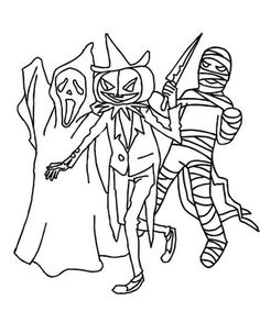 scary printable images for colouring for kids 2 scary coloring pages 2 - Scary Colouring Pages 2
